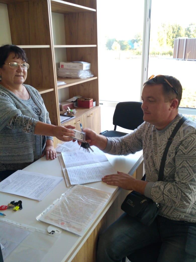 Двухсотый житель дома по адресу Флотская,9 получил ключи