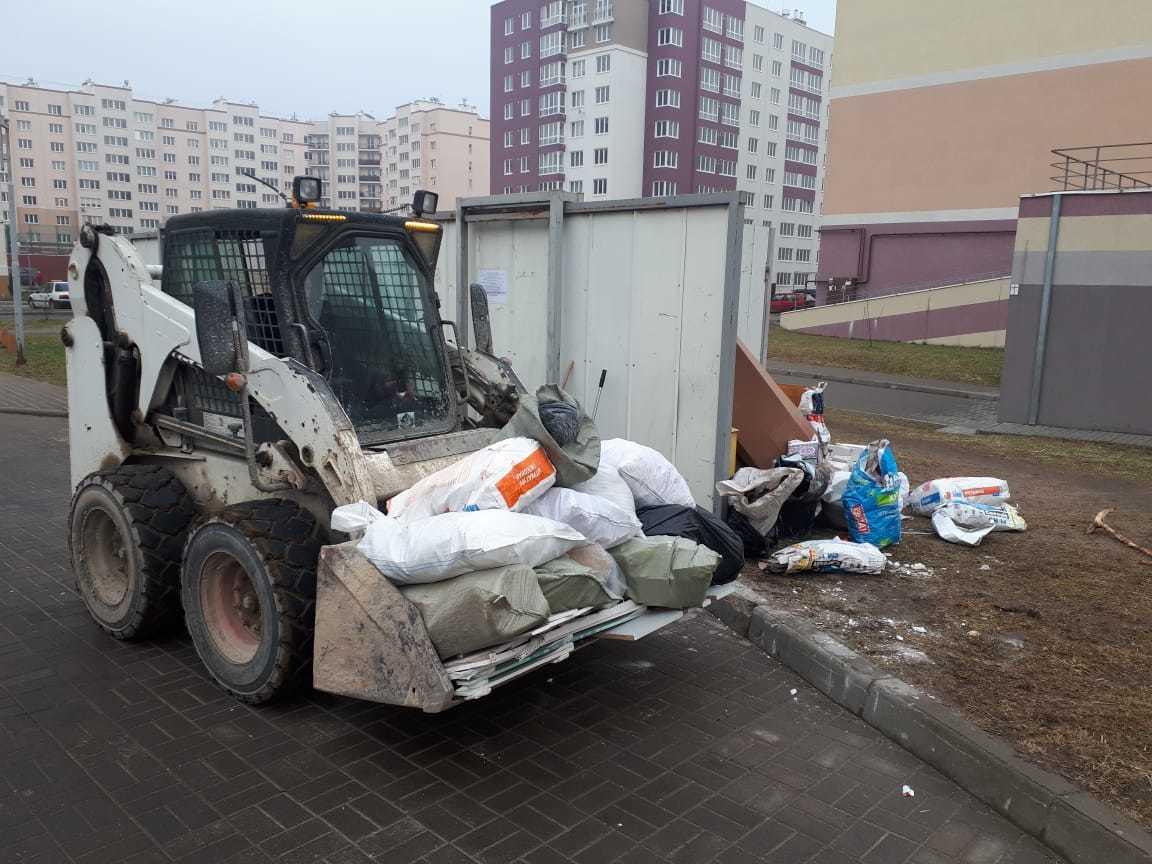 Несанкционированные свалки мусора