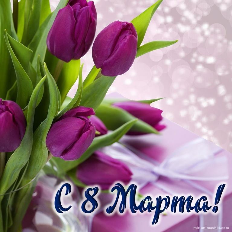 Поздравление с  Международным женским днем-8 марта