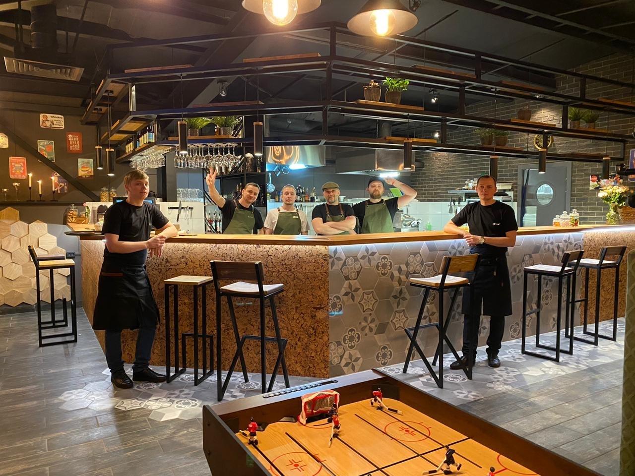Кафе&Бар на территории ЖК Парк-Сити